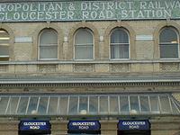 Gloucester Road Tube Station