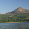 Goatfell From Brodick Harbour