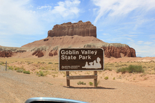 Goblin Valley Welcome Sign