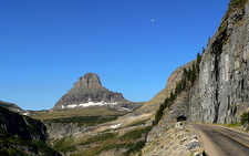 Going-to-the-Sun Road At Glacier - USA