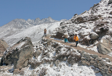Going Upwards Near Lobuche