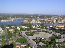 Gold Coast Waterway And Chevron Island