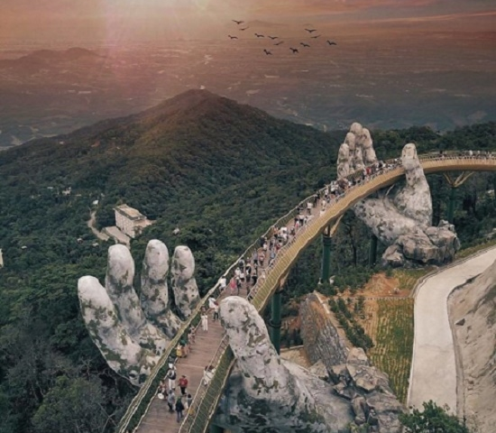 Golden Bridge Tour In Da Nang Tour Package Photos
