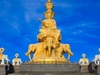 Golden Buddha Of Emeishan Peak