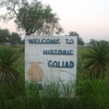 Goliad Entrance Sign