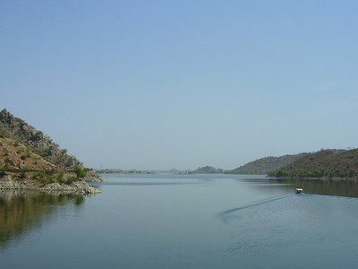 Gomati River - Jaisamand Lake