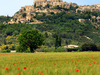 Gordes From The Valley