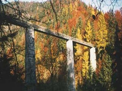 Gosauzwang Bridge