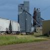 Grain Elevator In Carrington