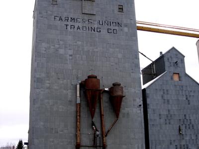 Grain Elevator In Plentywood