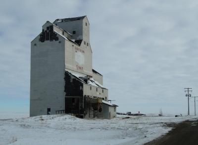 Grain Elevator In Simmie