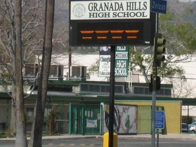 Granada  Hills  High  School
