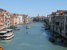 Grand Canal From The Second Floor Of Ca' Foscari