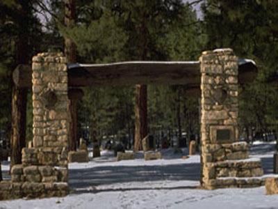 Grand Canyon Pioneer Cemetery - Arizona - USA