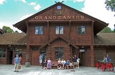 Grand Canyon Railroad Depot AZ