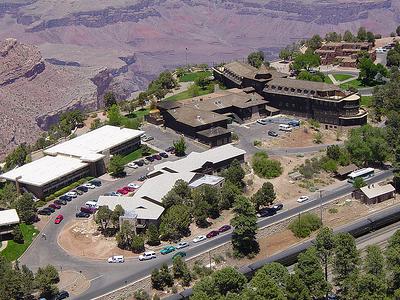 Grand Canyon Village Aerial View - Arizona - USA