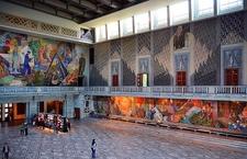 Grand Hall With Murals - Oslo Radhus