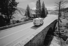 Grand Loop Road Historic District - Yellowstone - Wyoming - USA