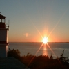 Sunset At Whistle Light House