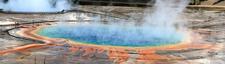 Grand Prismatic Spring Panorama