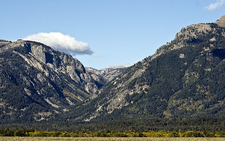 Granite Canyon - Grand Tetons - Wyoming - USA