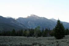 Granite Canyon Trail At Grand Tetons - Wyoming - USA