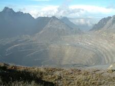 Grasberg Mine Open Pit