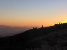 Grassy Ridge - Blue Ridge Sunset NC