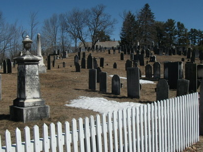 Graveyard In Greenfield New Hampshire