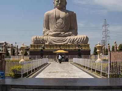 Great Buddha Statue Bodh Gaya