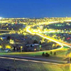 Great Falls Montana At Dusk