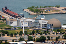 Great Lakes Science Center From Terminal Tower