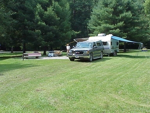 Daniel Boone Great Meadows Campground
