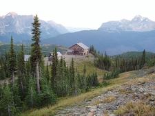 Great Northern Railway Buildings - Glacier - USA
