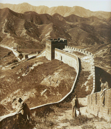 Great Wall In 1907