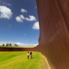 Great Wall Of Corten - Glorit - Auckland Region - Northland