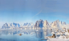 Greenland In Spring