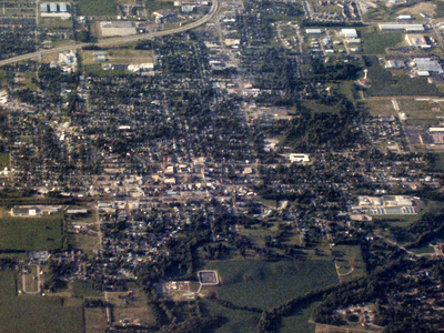 Greensburg  Indiana  From  Above