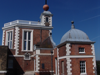Royal Observatory With The Time Ball