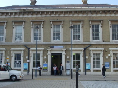 Greenwich Station Main Building