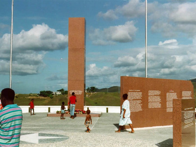 Guadalcanal American Memorial In Honiara