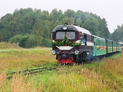 * Gulbene - Alūksne Narrow Gauge Train