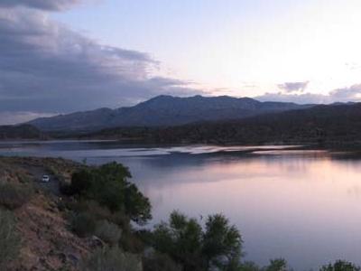 Gunlock Reservoir In Gunlock State Park