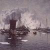 Gunnar Berg Fiskebåter Ved Reine