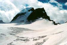 Gannett Glacier On The North Slope Of Gannett Peak