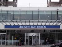 Estación de autobuses en Montreal