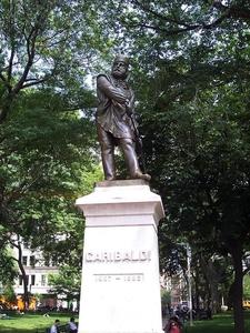 The Garibaldi Statue