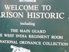 Garrison Signage Along Highway