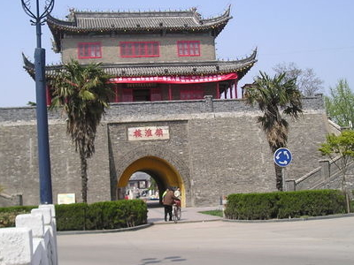 Gate Tower In Huaian