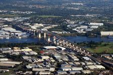 Gateway Bridge Aerial View